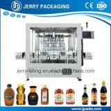 Botella de vidrio automática de alta calidad alimentos la miel de llenado de llenado de líquido