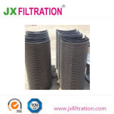 Tela de curvatura da peneira com Fluxo Vertical Driection