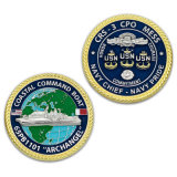 Modifica d'argento della moneta RFID di ritorno della moneta del ricordo del premio di sport del Triathlon