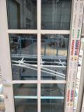 Une seule ouverture volet extérieur UPVC Porte battante avec grill Design