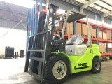 Carretilla elevadora diesel de la potencia del levantador 3.5ton de la fork del motor de Isuzu