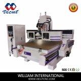 Alta precisión en Italia Hsd husillo 5kw rebajadora CNC para madera (VCT-W1530ATC-8)