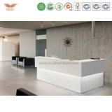 Europäischer Art-Schönheits-Salon-heißer Verkaufs-weiße preiswerte Empfang-Schreibtische