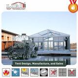 500 m² tente transparent utilisé pour la partie de l'Hôtel de Plein Air
