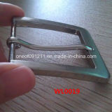 Square semplice Belt Buckle per Leather