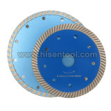 Diamond Turbo Saw Blades for Stone, Concrete