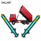 Гидравлический цилиндр одностороннего действия для самосвалов и грузовиков мусора/санитарии транспортных средств