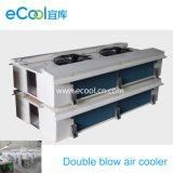 Double côté refroidisseur d'air de soufflage pour salle de stockage à froid