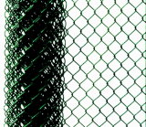 Omheining van de Link van de Keten van het Netwerk van de Draad van het Ijzer van Bouwmaterialen de Gegalvaniseerde