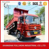 Dongfeng LHD/Rhd 4X2 6m3 8 톤 -10 톤 팁 주는 사람 트럭/덤프 트럭