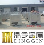 350 gallon carré de réservoir de liquide de refroidissement Veste IBC
