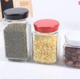 Опарник горячего Kitchenware стеклянной тары опарника хранения еды надувательства стеклянный с крышкой цвета