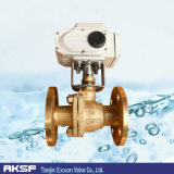 ISO Two PiecesかThree Pieces Type Flanged Cast Steel/Cast Iron Ball Valve