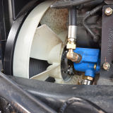 Ventilador 612600060908 do motor Diesel Wd12.420 das peças sobresselentes de Weichai para o caminhão pesado