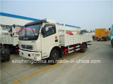 DFAC Dlk 120HP 4X2の貨物トラックのペイロード6-7トン
