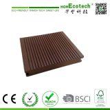 Revestimento composto Certificated CE do Decking da varanda plástica de madeira