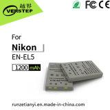 1200mAh de digitale Batterij van de Camera voor Nikon Engels-EL5 3700/4200/5200/5900/7900/P3/P4/5000