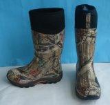 Varios hombres de lluvia botas de goma, Macho camo de caucho, la caza el fuelle de goma de neopreno, estanqueidad Camo botas de goma de neopreno, el calor preservación botas