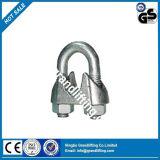 Type clip malléable de qualité de câble métallique de B Galv