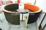 任意選択カラーおよび材料のレストランブースのソファーの座席