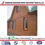 Acciaio preverniciato PPGI del materiale da costruzione con il disegno di legno