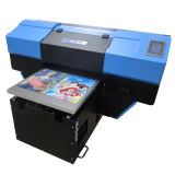 Aprobado por la CE de la impresora de escritorio de dos A2 Cabeza UV plana