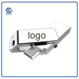 Новая ручка памяти привода вспышки USB Smartphone OTG прибытия с логосом