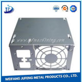 Kundenspezifisches stempelndes Fall-/Kasten-Aluminiumgehäuse mit Schweißen und Ausschnitt