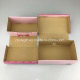 Modificar la caja de embalaje de los zapatos para requisitos particulares del bebé del papel acanalado