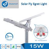 Éclairage routier solaire complet de la qualité 15W-100W DEL avec le panneau solaire