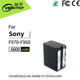 Batería de la videocámara de la venta directa de la fábrica para Sony Np-F960 F970