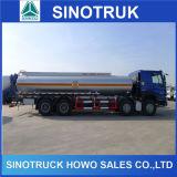 10의 짐수레꾼 탄소 스테인리스 기름 연료 탱크 유조 트럭