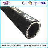 Гидровлический резиновый шланг стального провода шланга En856 4sp с давлением деятельности 45 MPa высоким
