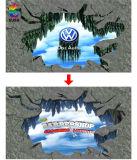 Wij verstrekken Ontwerp van het Embleem & van de Tekst van de Douane 3D, 3D Sticker (su-SC20)