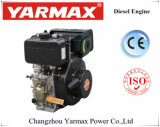 De Lucht van het Begin van de Hand van Yarmax koelde de Enige Mariene Dieselmotor 8.8/9.0kw 12.0/12.2HP van de Cilinder 548cc
