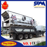 Heißes Sale Mobile Crusher für Portable Gravel Crushing Line