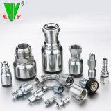 Los adaptadores hidráulicos de alimentación de los fabricantes de tubo de goma Conectores adaptadores de manguera de presión