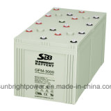 High Power 220V Pack를 위한 태양 Power System Battery 2V3000ah
