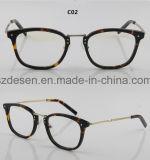 Frames Van uitstekende kwaliteit van de Glazen van Eyewear van de Acetaat van het Frame van het Embleem van de douane de Volledige