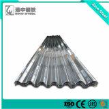 Lamiera di acciaio ondulata galvanizzata zinco di Sghc Bwg34*800mm