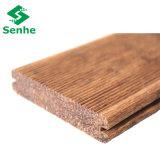 Revestimento ao ar livre do parquet com bambu tecido costa