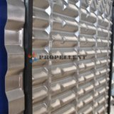 수정같은 입자 또는 섬유 또는 스티키 물자 중간 자유로운 교류 스테인리스 큰 격차 격판덮개 열교환기