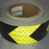 高い可視性の格子タイプ付着力の矢の反射マーキングテープ