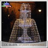 2015の新しい休日ライト3D噴水軽いLEDの彫刻ライトLEDクリスマスのモチーフライト