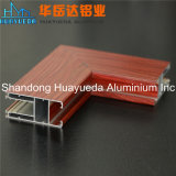 アルミニウムプロフィール木製カラーWindowsおよびドアアルミニウムプロフィール