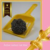 Lettiera attiva della bentonite del carbonio per pulizia