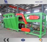 Folha de borracha grande lote máquina de refrigeração desligado com uma grande capacidade de trabalho