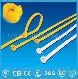 De zelfsluitende Plastic Levering voor doorverkoop van de Band van de Kabel (de Nylon fabrikant van de kabelband) in de Witte Kleur van China
