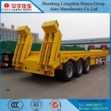 Semi-remorque inférieure lourde de bâti de transport de machine/excavatrice/broyeur/bouteur/grue