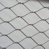Giardino zoologico animale tessuto cavo della corda dell'acciaio inossidabile che recinta maglia